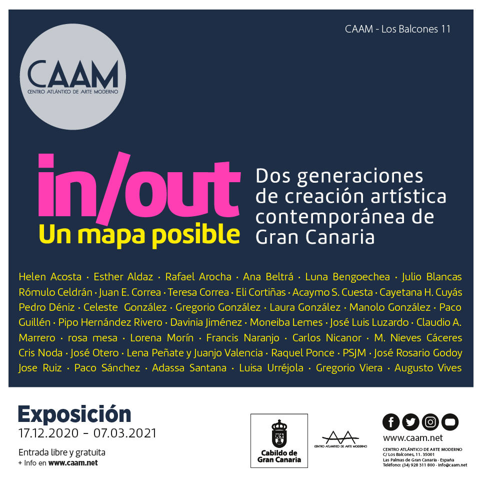 Exposicion In Out Un mapa posible en el CAAM